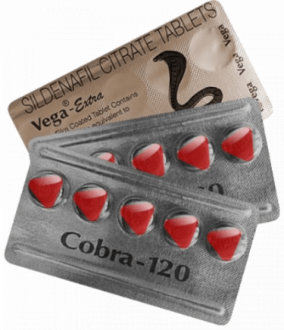 Cobra 120 mg Sildenafil tabletit