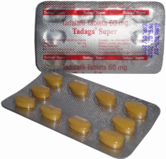 Tadagra SUPER STRONG 60 mg pastillas de Tadalafil