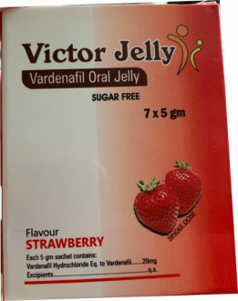 Victor  Vardenafil Oral Jelly 20 mg