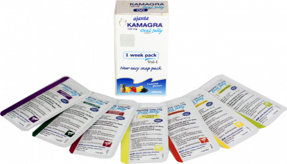 Acquista Kamagra Oral Jelly 100 mg Sildenafil