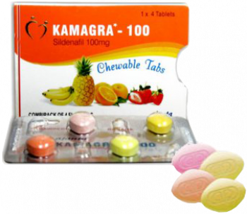 Kamagra Soft pillerit 100 mg Sildenafil Tabletit